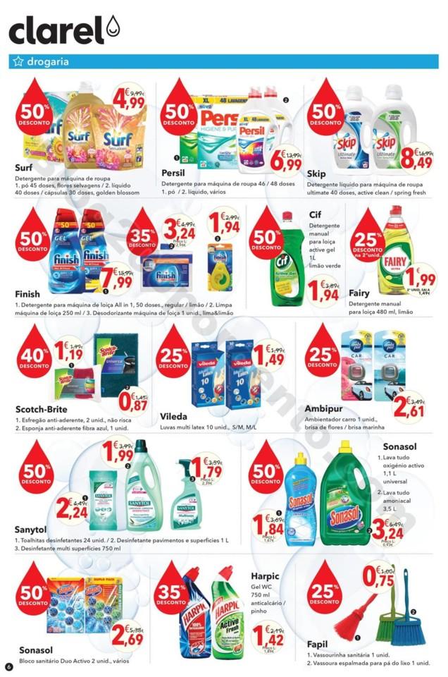 Antevisão Folheto CLAREL Promoções de 15 a 28 f