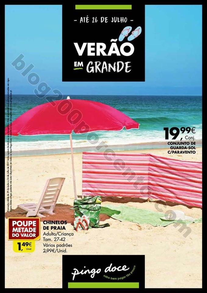 Novo Folheto PINGO DOCE Verão Promoções até 26