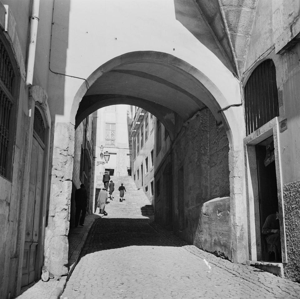 Arco de Jesus, ant. 1945, foto de Fernando Martine