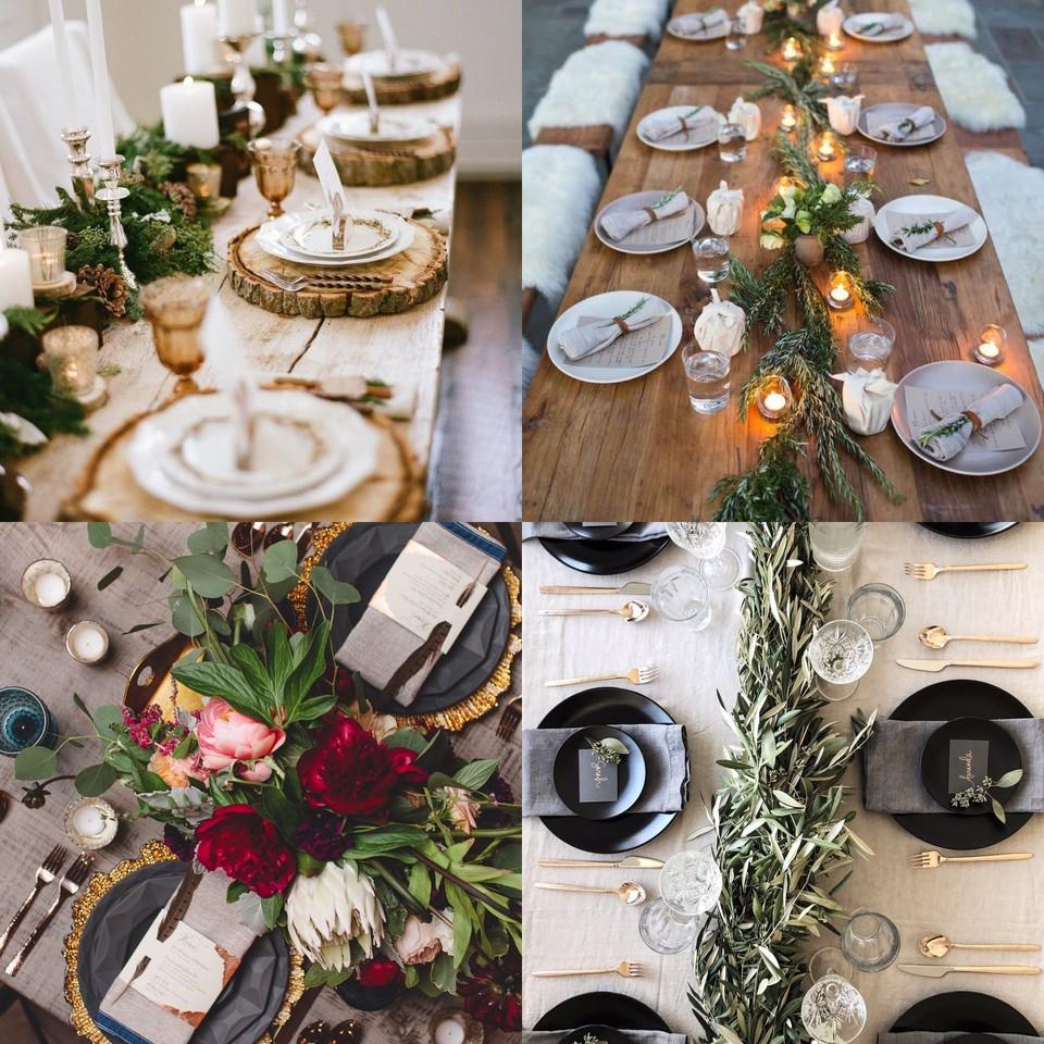 BLOGMAS | Dia 20: decorações de mesas de Natal