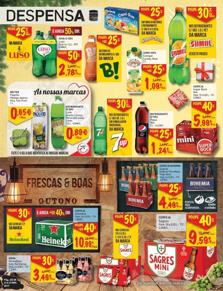 Antevisão Folheto INTERMARCHÉ Promoções de 21