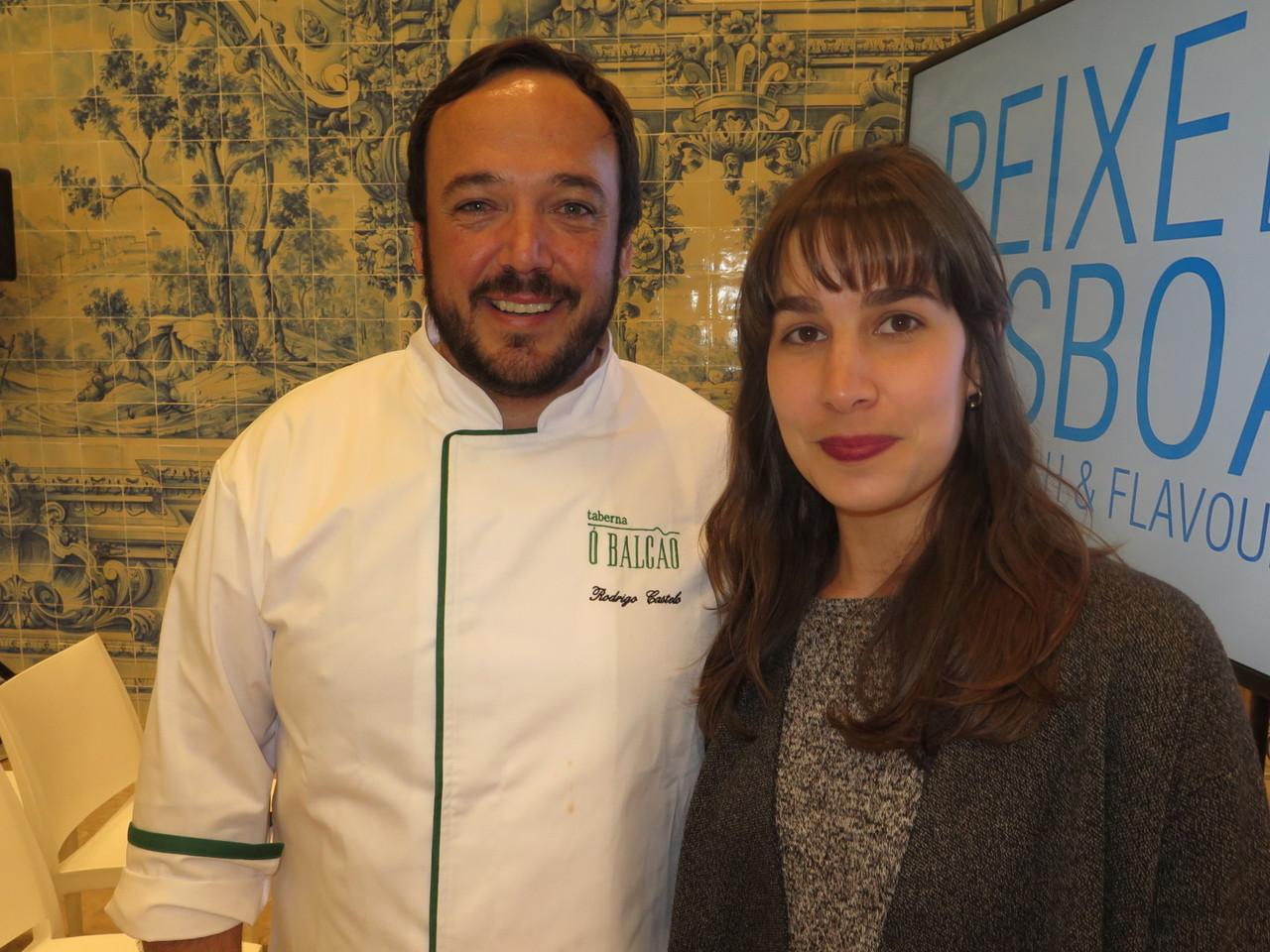 Rodrigo Castelo e Mariana Filipe