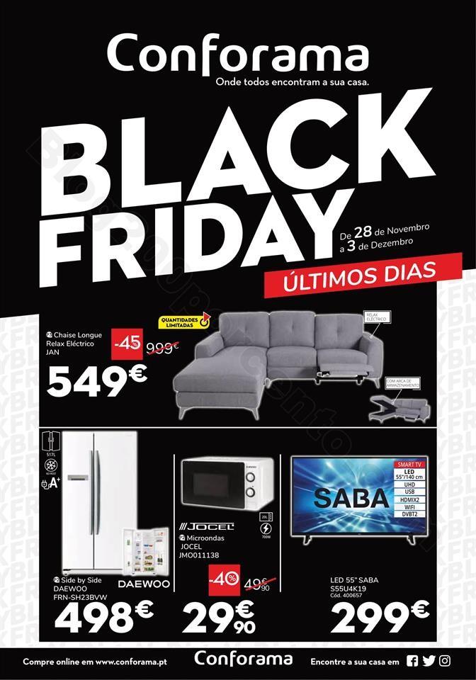 black Friday CONFORAMA 28 novembro a 3 dezembro_00