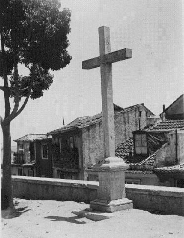 Cruzeiro de Santo Estêvão, ant. 1939, foto de Ed
