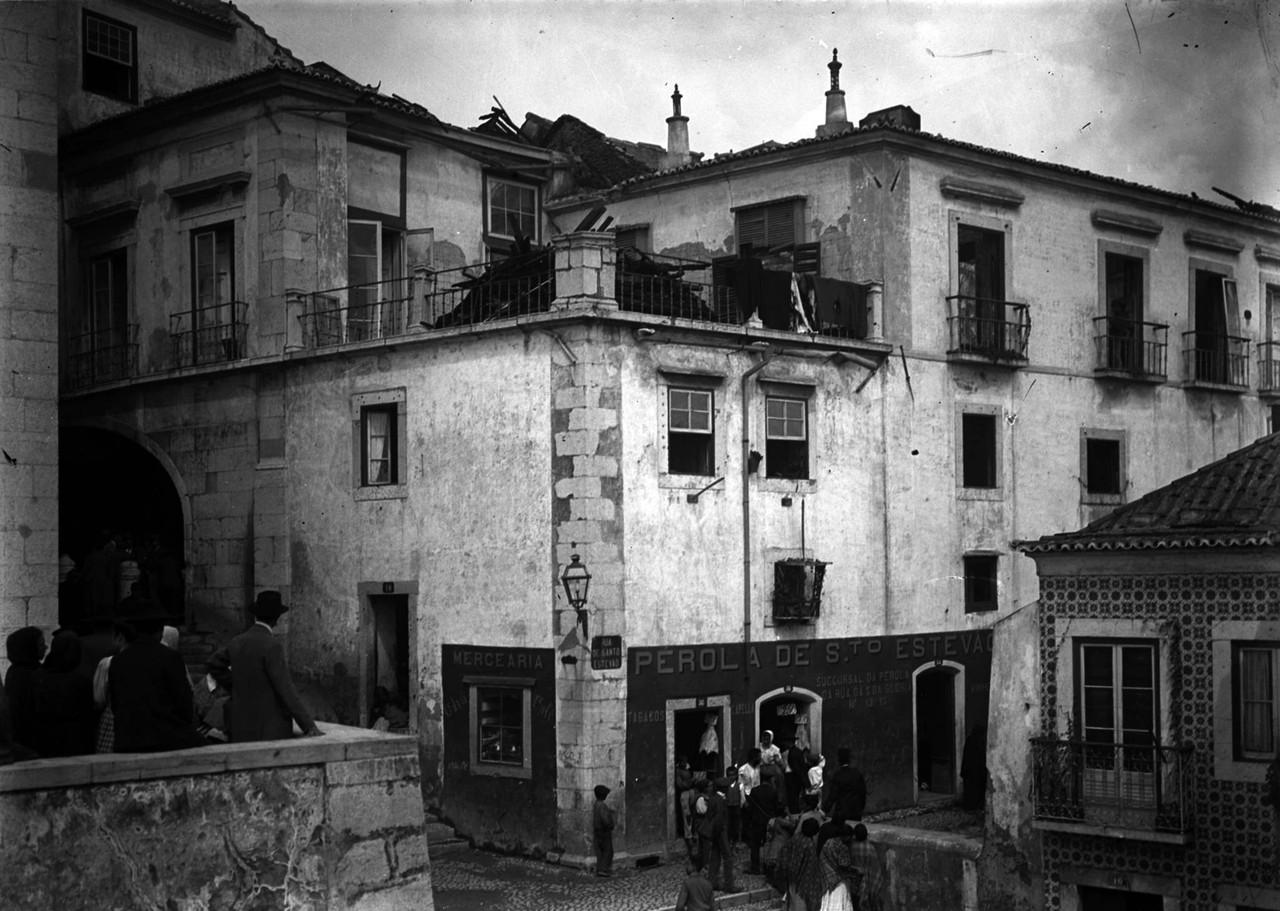 Palácio Azevedo Coutinho, início séc. XX, foto