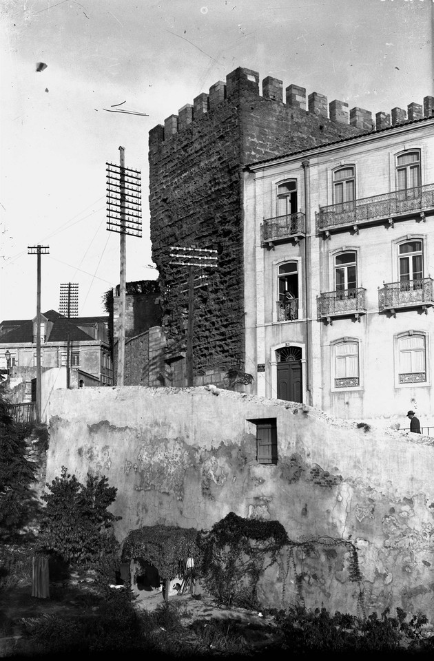 Costa do Castelo e a Torre de São Lourenço, foto
