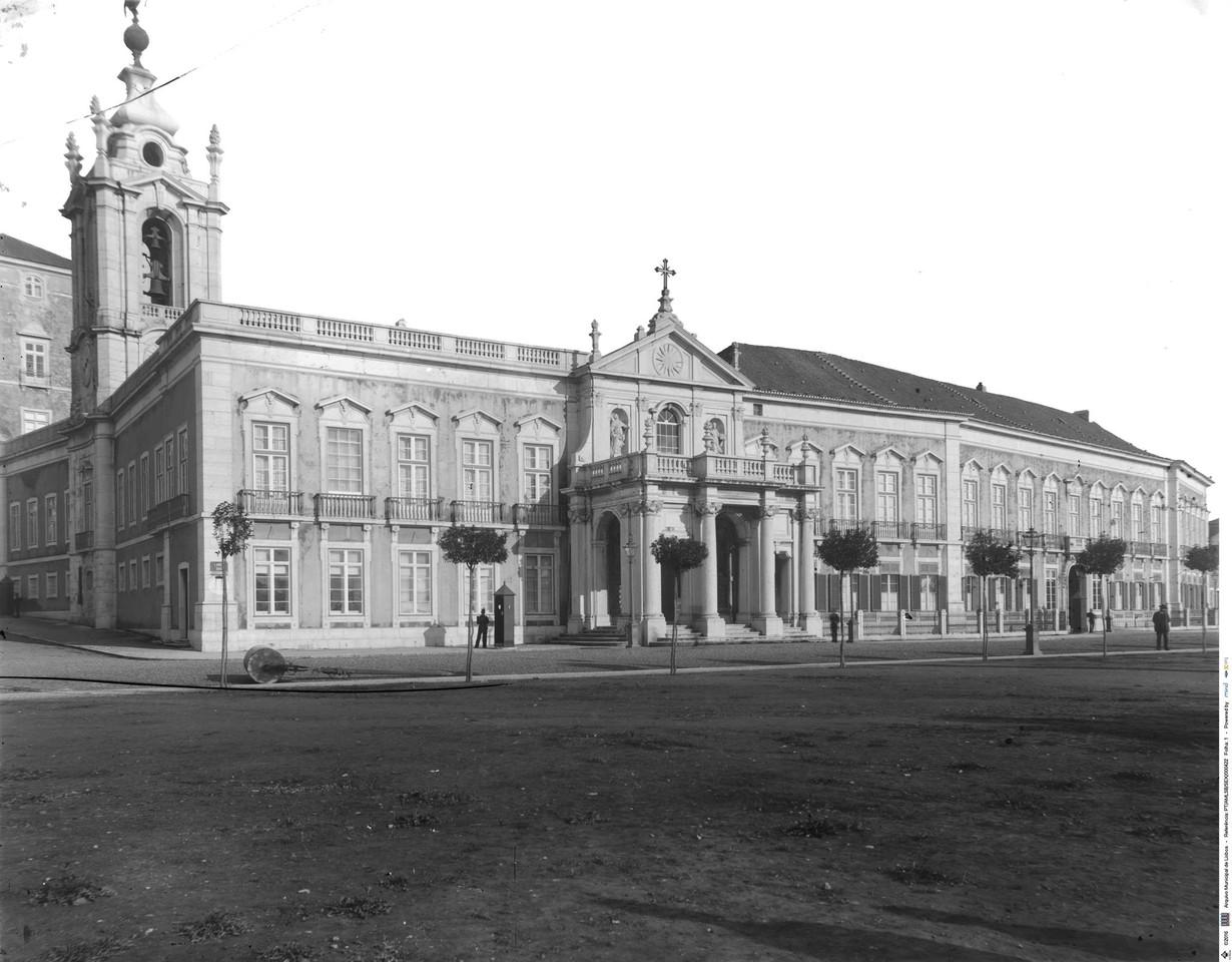 Palácio das Necessidades, sd, foto de Legado Seix