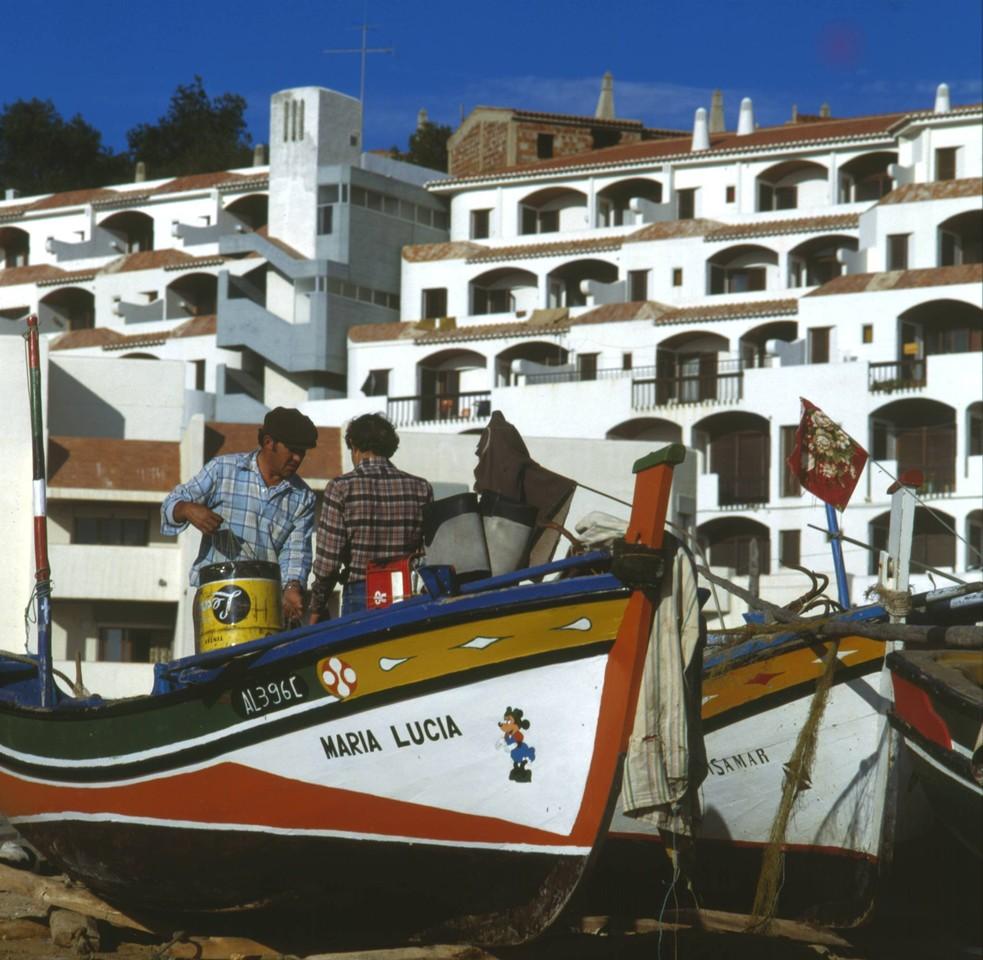 Pescadores, Albufeira (A. Pastor, 198...)