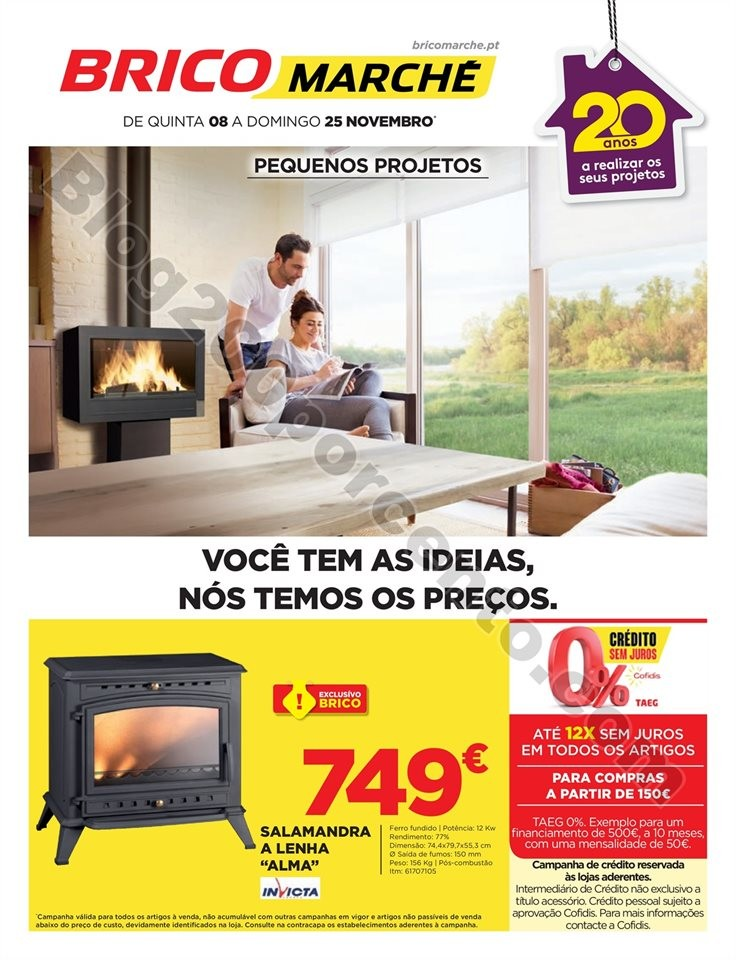 Antevisão Folheto BRICOMARCHÉ Promoções de 8 a