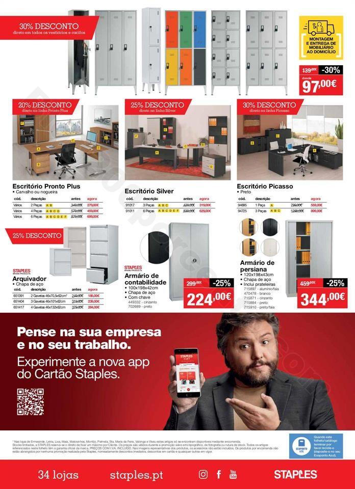 Antevisão Folheto STAPLES Promoções de 12 a 27