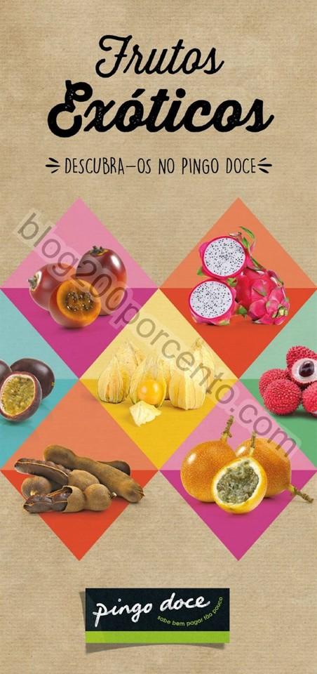 Novo Catálogo PINGO DOCE Frutos Exóticos promoç