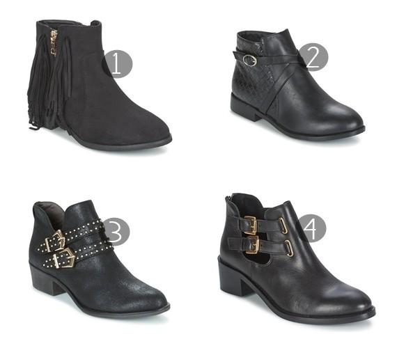 A minha obsessão por botins pretos - Moda & Style