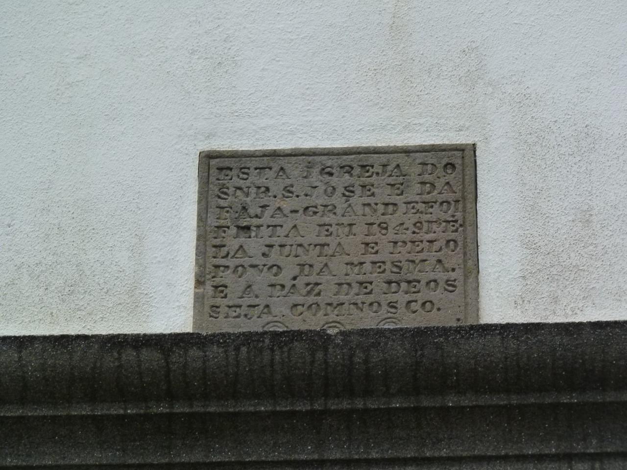 Fajã Frande - Igreja de S.José 3.JPG