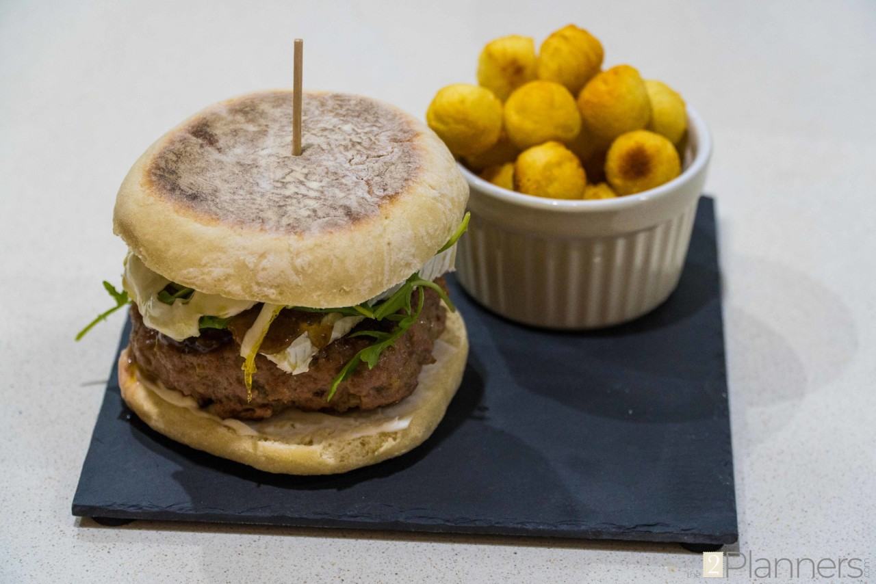 Fig And Brie Burger Recipe The 2 Planners
