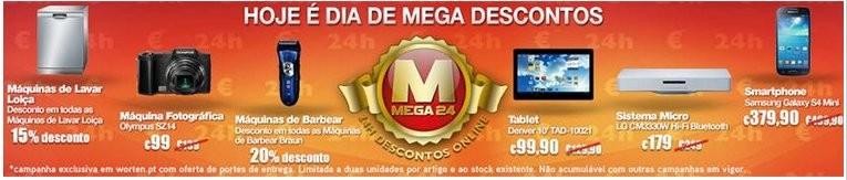 Mega Descontos | WORTEN | Dia 19 novembro