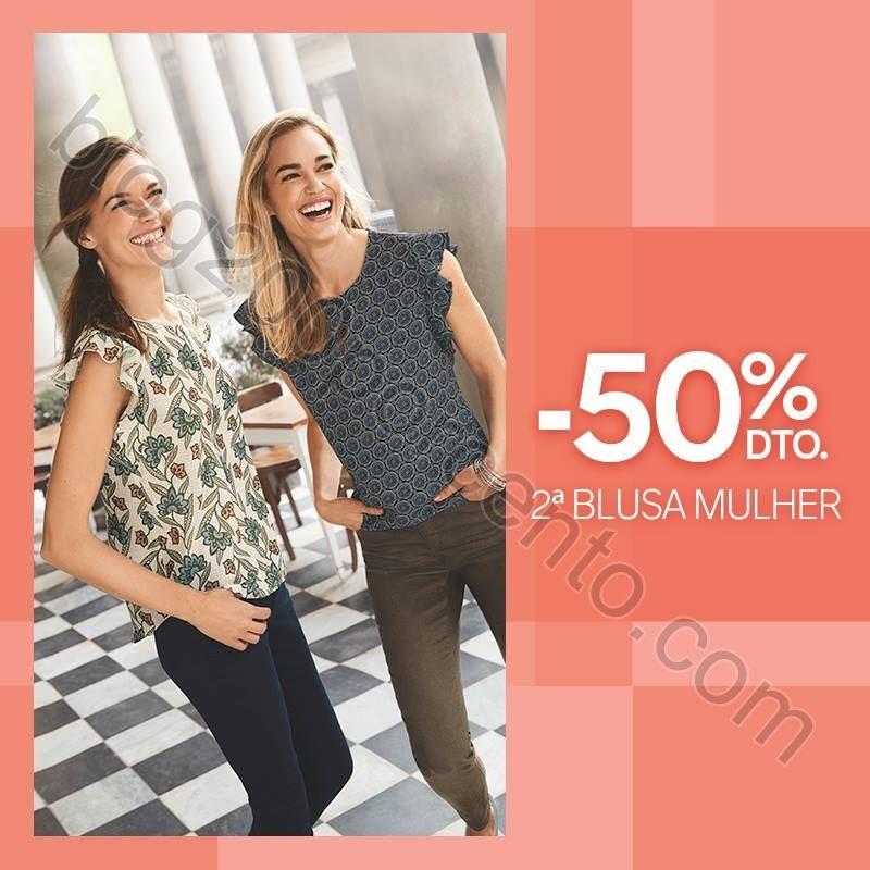 Promoções da semana C&A 50% desconto de 16 a 22
