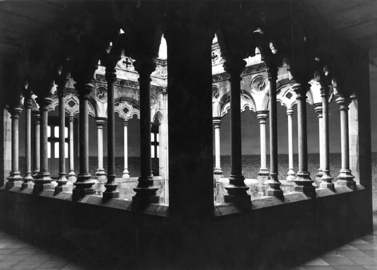 Convento da Madre de Deus, claustro, anos 50, foto
