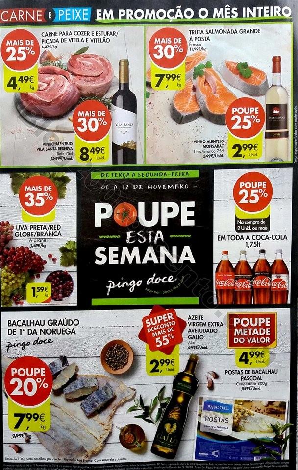 Antevisão folheto Promoções Pingo Doce 6-12nov