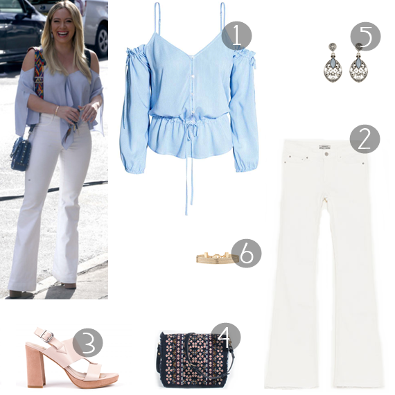 Get Her Look - Hilary Duff - Moda & Style