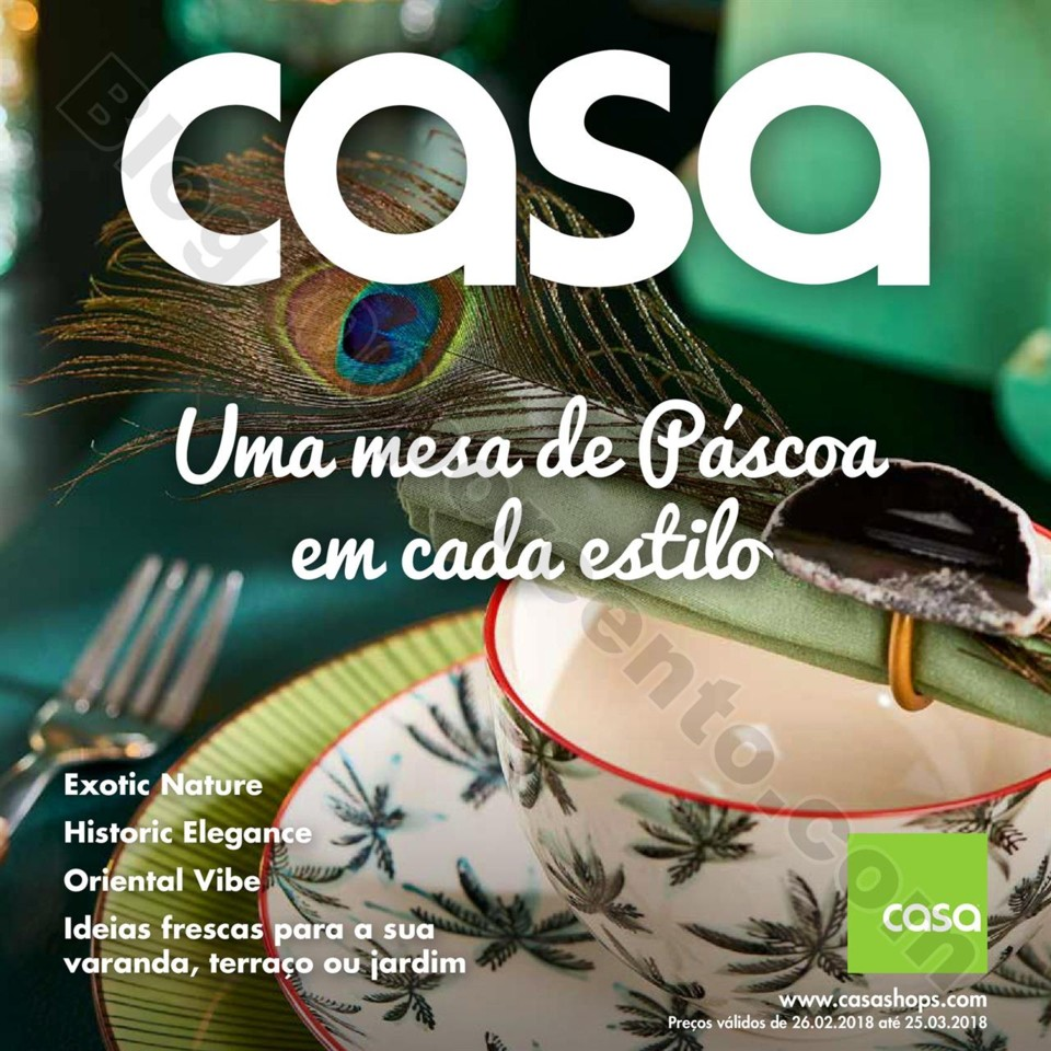 Antevisão Folheto CASA Páscoa promoções de 26