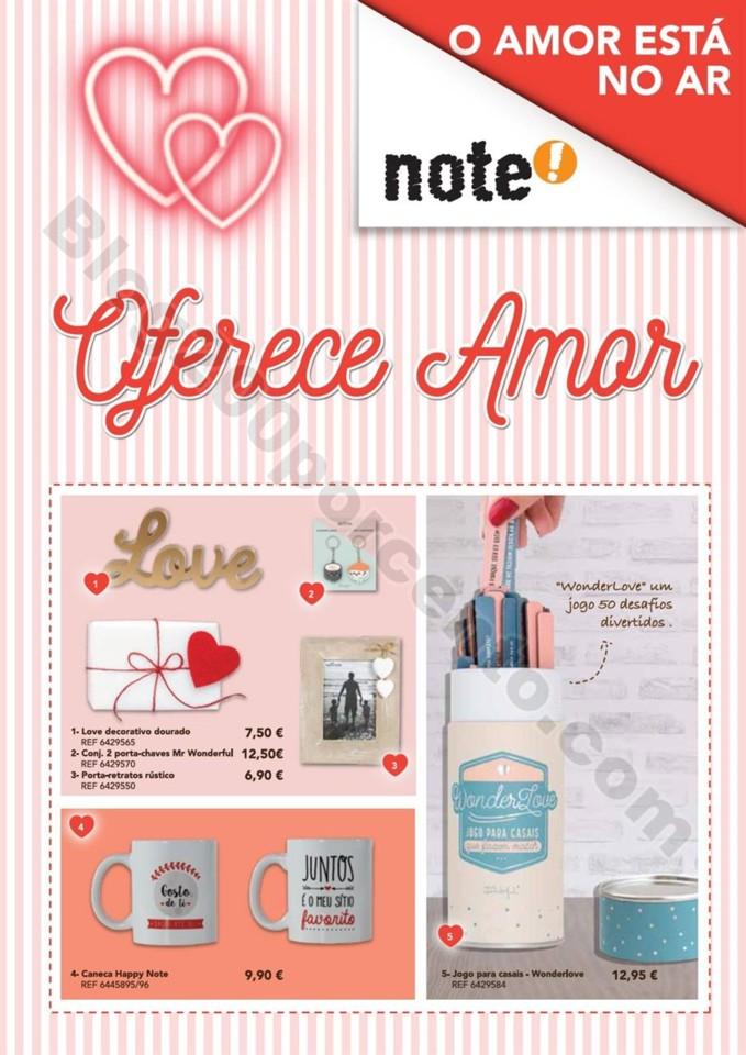 Novo Folheto NOTE Dia dos namorados promoções at
