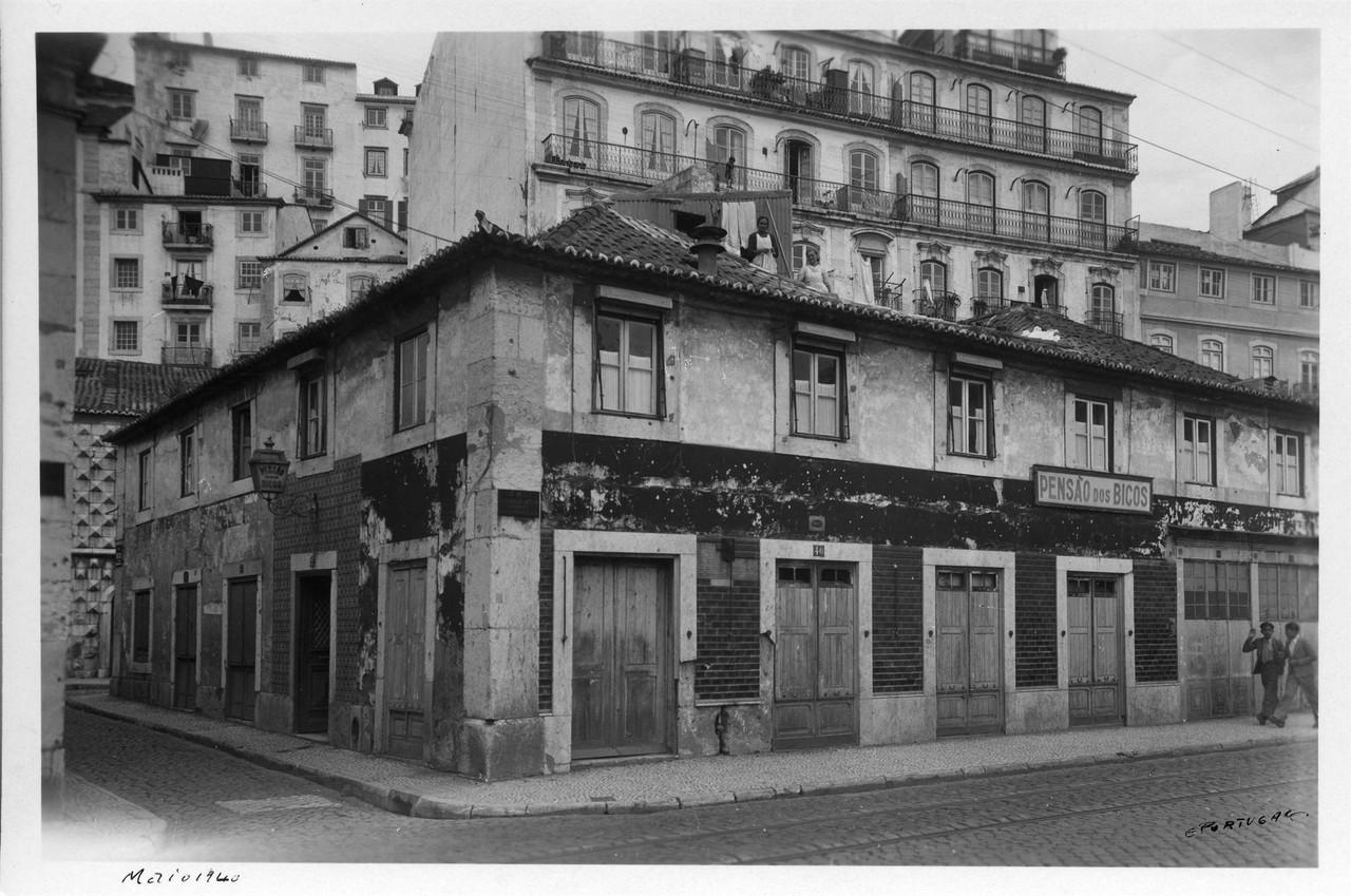 Terreirinho das Farinhas, 1940, foto de Eduardo Po