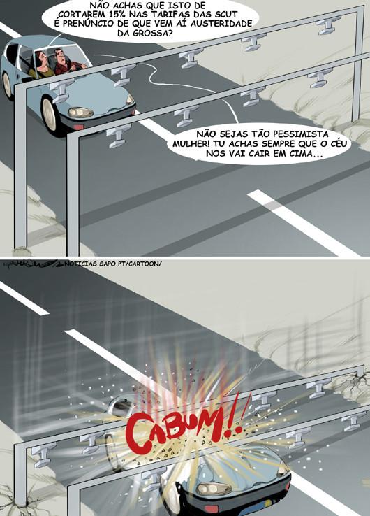 Cartoons - Desconto de 15% nas Scuts - Gato Escaldado