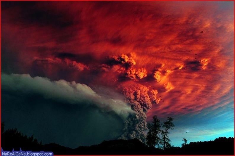 A vida de um vulcão