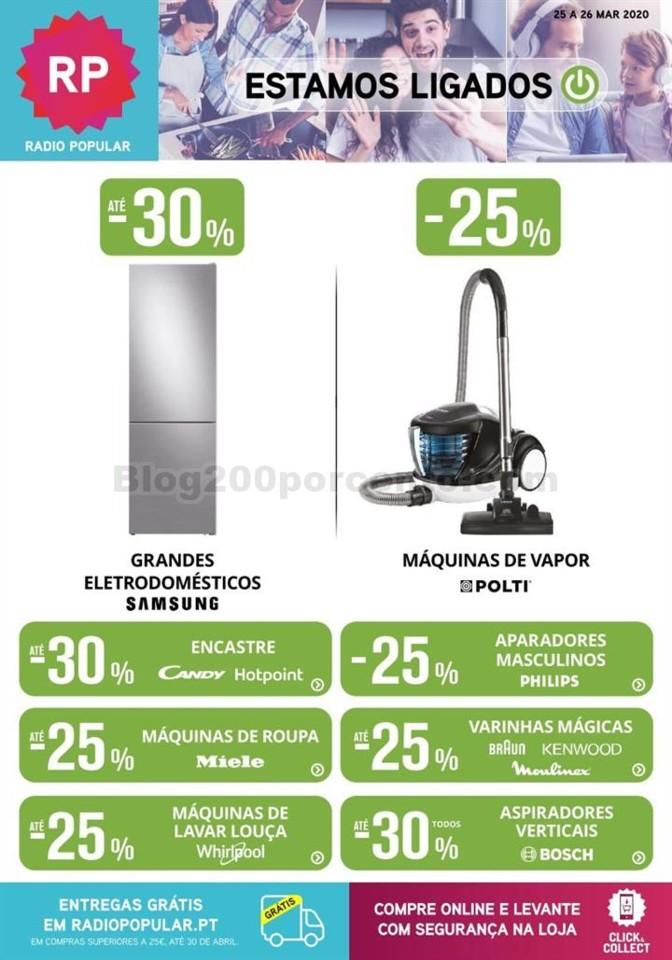 Antevisão Folheto RADIO POPULAR Extra Promoções