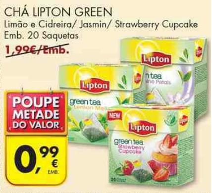 bricopoupar acumulação promoção pingo doce lipton