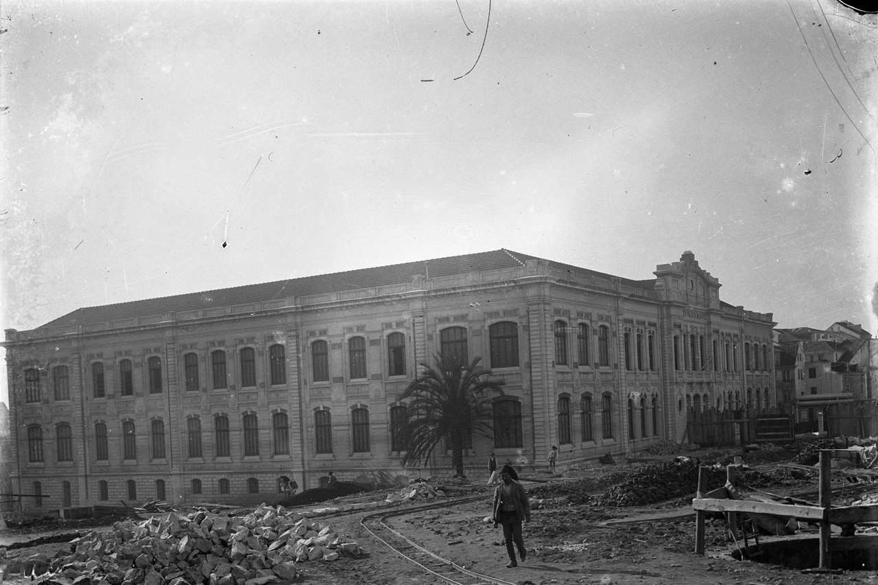 Liceu Passos Manuel, 1911, foto de Joshua Benoliel