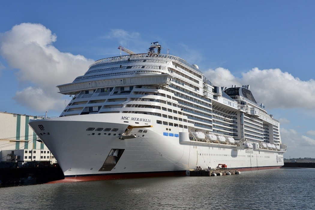 MSC Meraviglia will be christened in Le Havre June