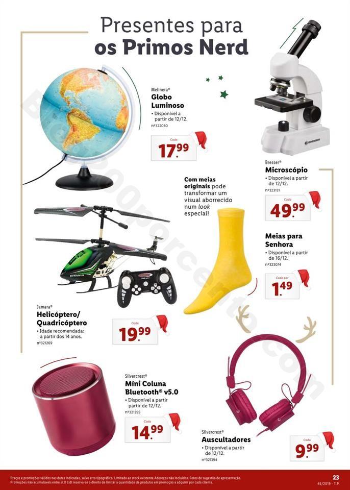 Folheto LIDL Presentes de Natal 11  novembro p23.j
