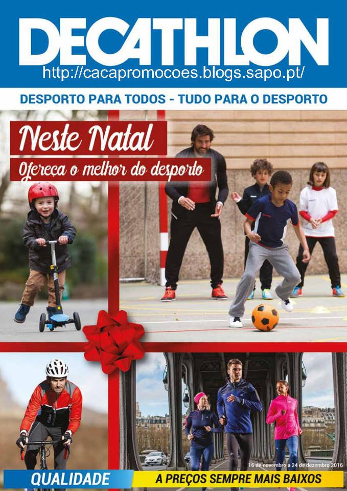 fc8b5fc18 Promoções Decathlon – Antevisão Folheto Natal – 16 novembro a 24 dezembro