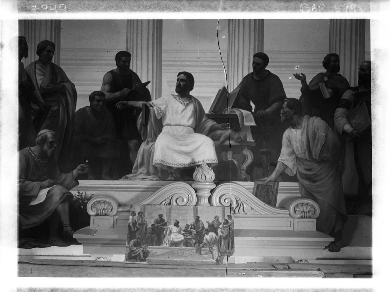 Galeno - pintura mural de Veloso Salgado, 1906, fo