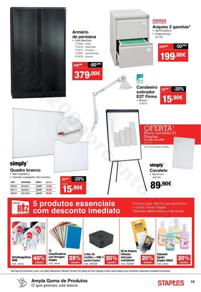 Antevisão Folheto STAPLES Promoções de 2 a 17 a