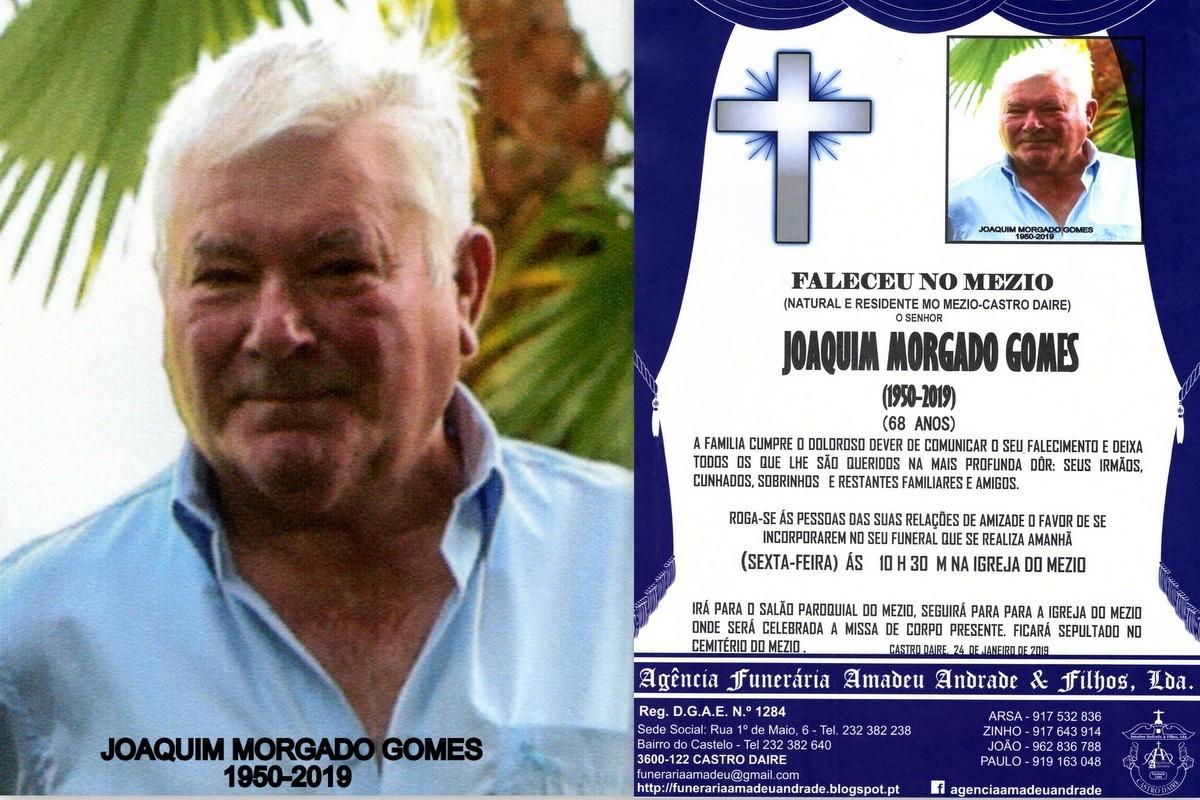 FOTO RIP2 DE -JOAQUIM MORGADO GOMES-68 ANOS (MEZIO
