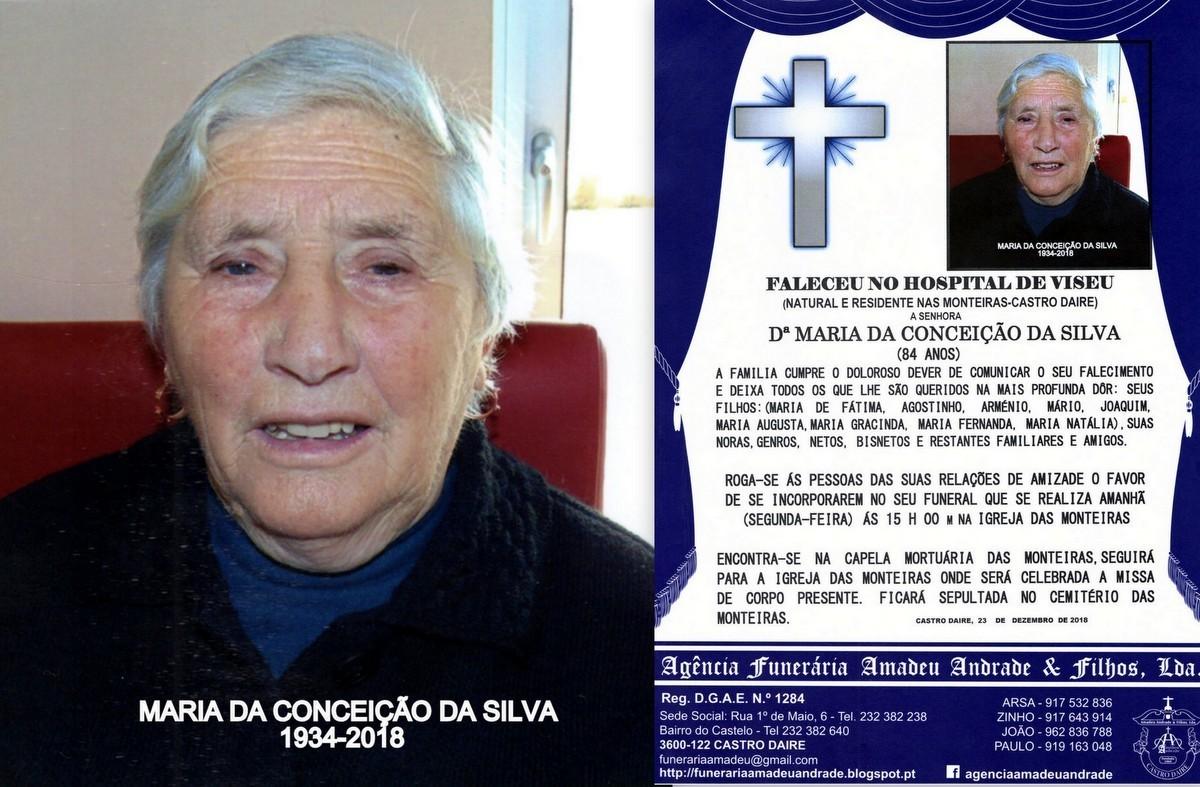 FOTO RIP- DE MARIA DA CONCEIÇÃO DA SILVA-84 ANOS