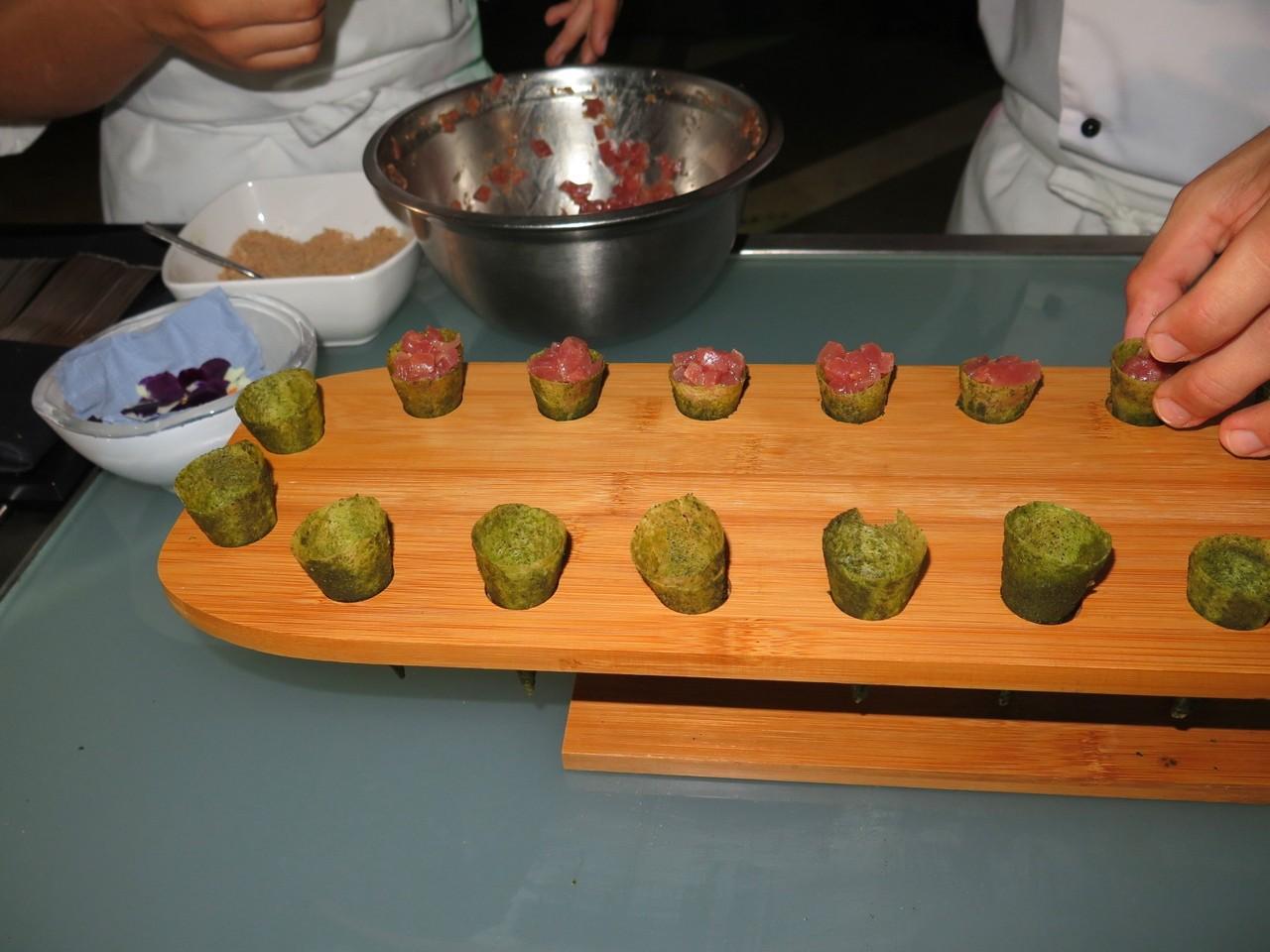 Tuna-cone Tartare