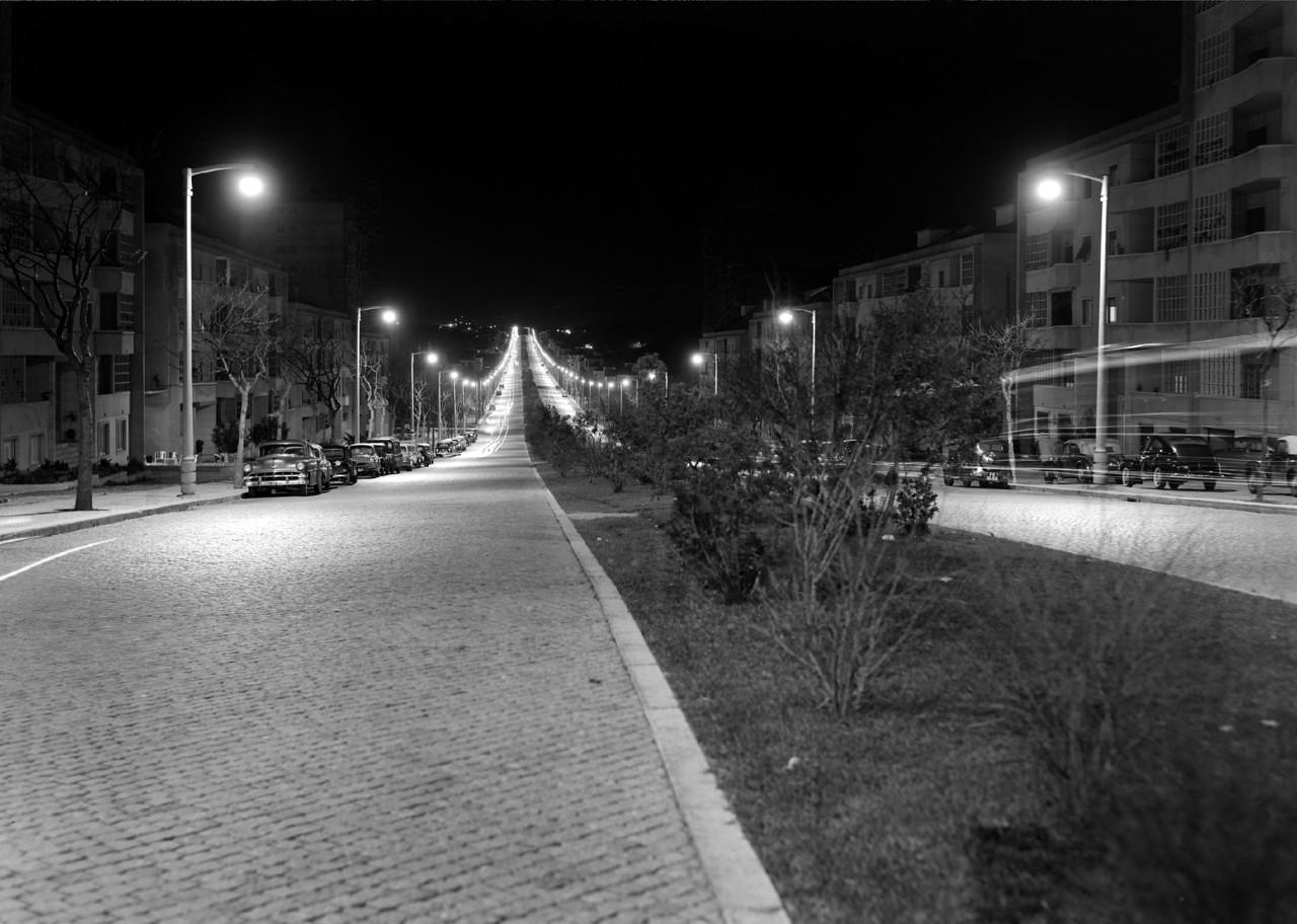 Av. do Aeroporto, Lisboa (M. Novais, c. 1955)