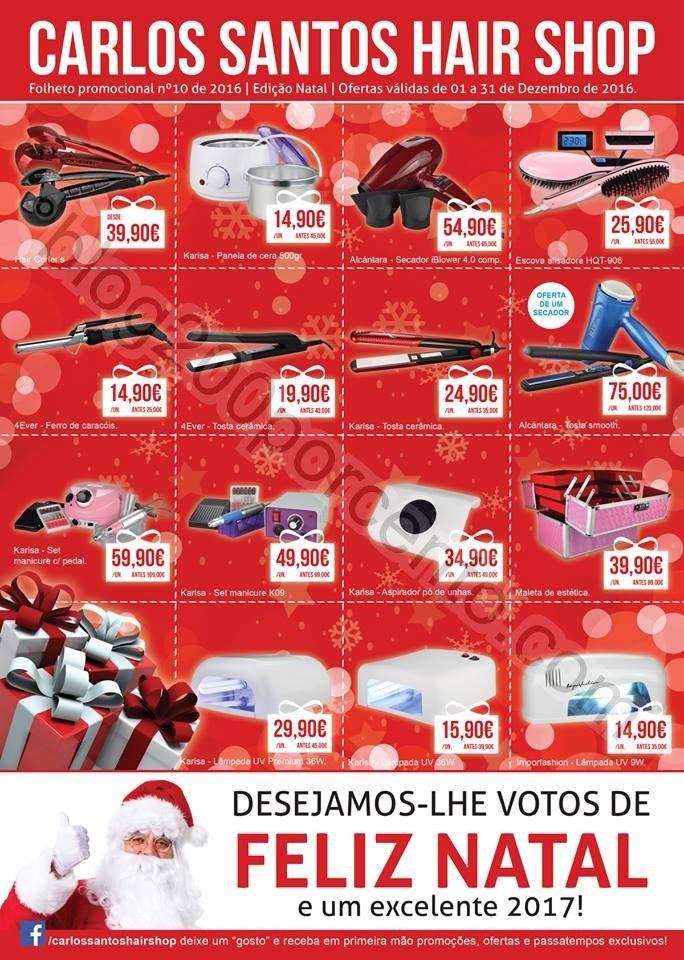 Folheto Natal CARLOS SANTOS HS promoções de 1 a