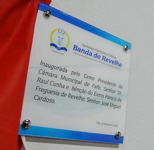 fafe inauguração banda revelhe exmo