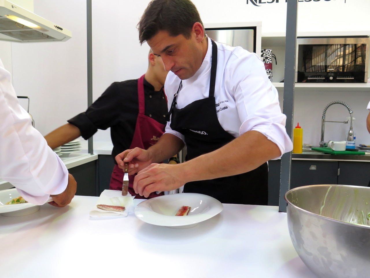 Ricardo Costa no Atelier Nespresso