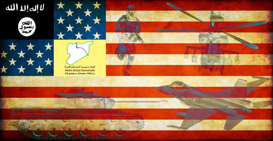 Terrorismo-colonização da Síria
