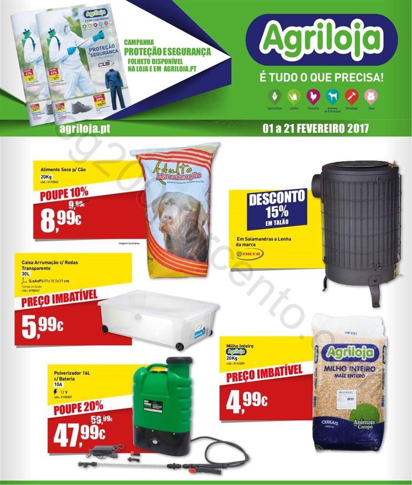 Antevisão Folheto AGRILOJA Promoções de 1 a 21