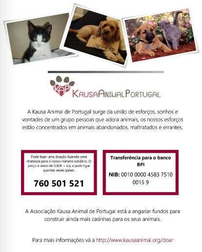 Publicidades do Coração | Kausa Animal Portugal