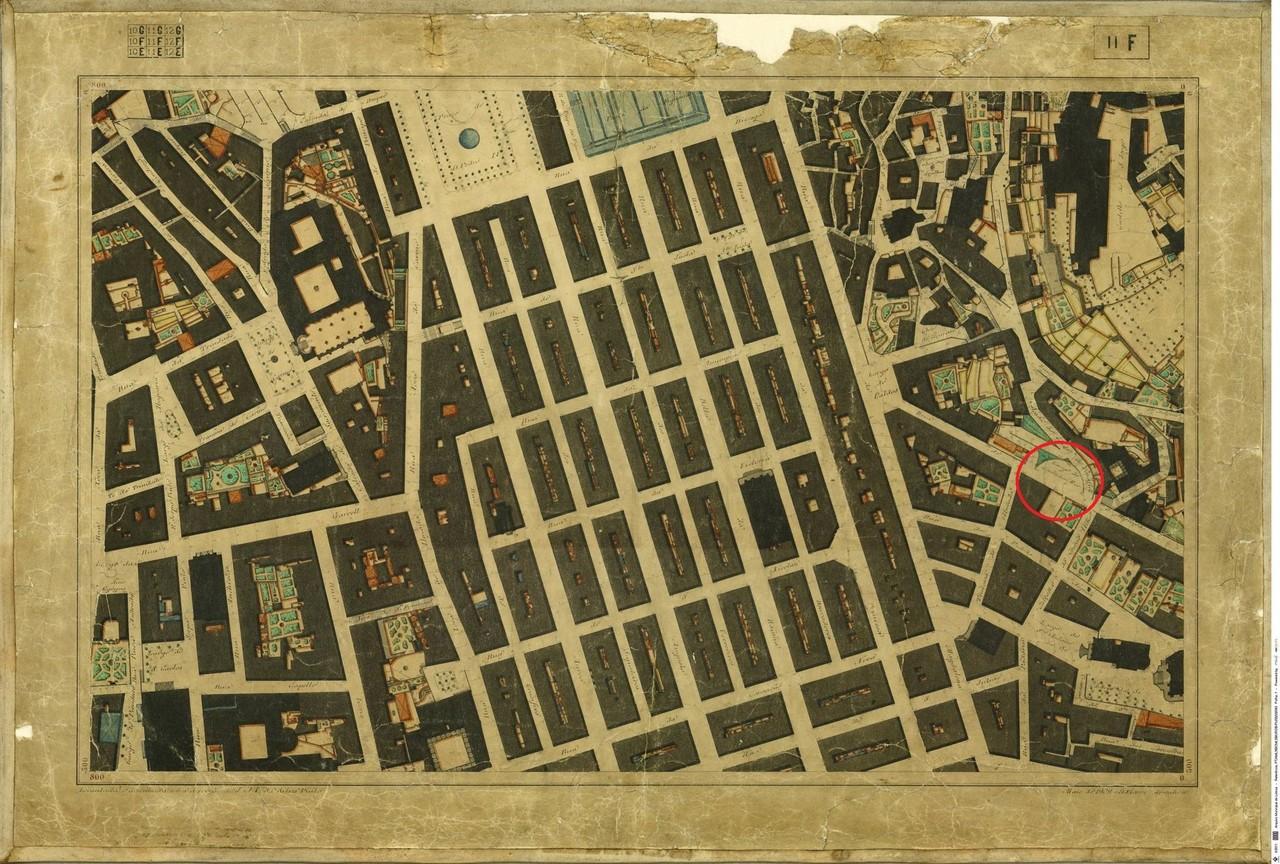 Planta Topográfica de Lisboa 11 F, 1909, de Alber
