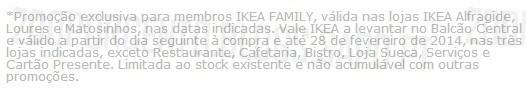 20% de desconto | IKEA |, de 25 Outubro a 3 Novembro, 20% (vale)* em todos os tapetes, exclusivo membros IKEA
