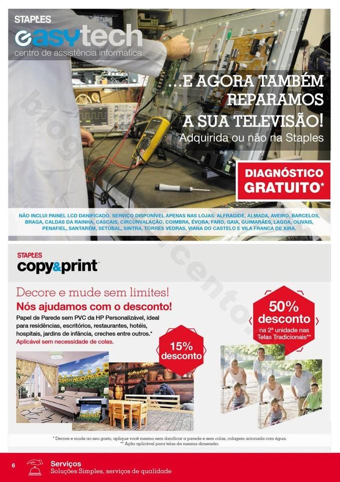 Antevisão Folheto STAPLES promoções de 2 a 10 o