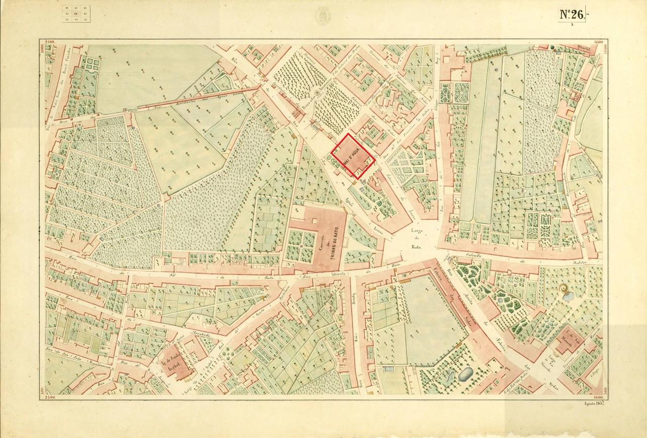 Atlas da carta topográfica de Lisboa n.º 26, 185